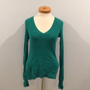 Express Green Sweater